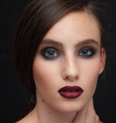 High end retouching-before