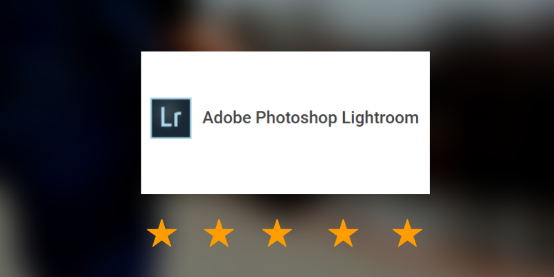 Adobe Lightroom Image