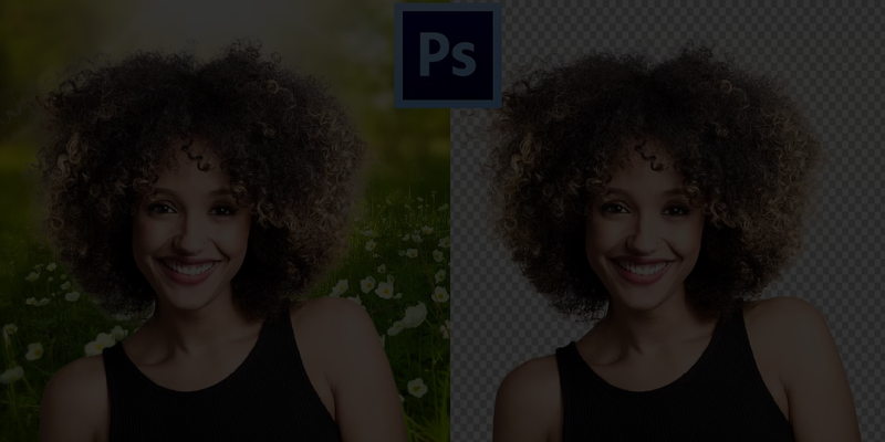 blog banner background removal in photoshop