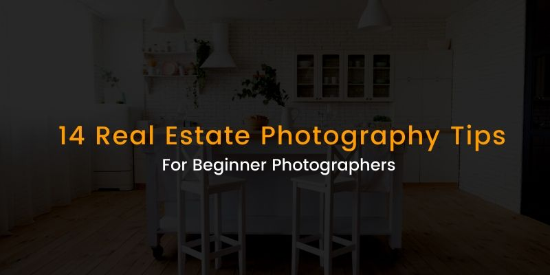 real estate photography tips banner